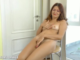 Slow anal insertion