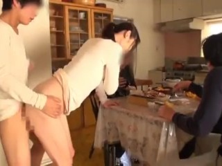 Small tits twerking blowjob dick and interracial